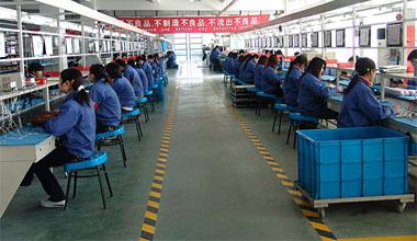 精密量产设备在某企业启用
